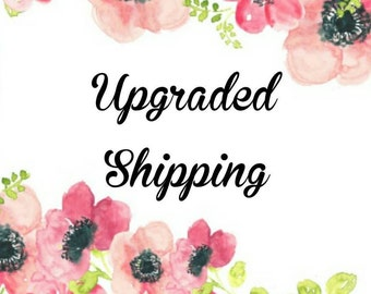 Upgraded Shipping With Tracking Included
