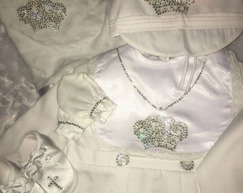 Bling Baby Christening set