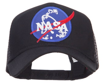 Lunar Landing NASA Patched Mesh Back Cap