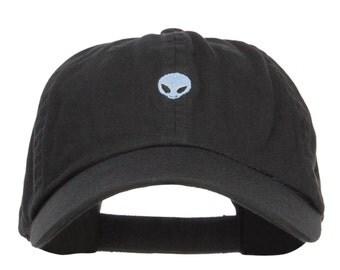 Mini Alien Embroidered Low Cap