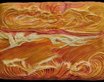 Wall Sculptures, 3D Wall Sculptures, 3D Wall Art Décor, Carved Wall Panel