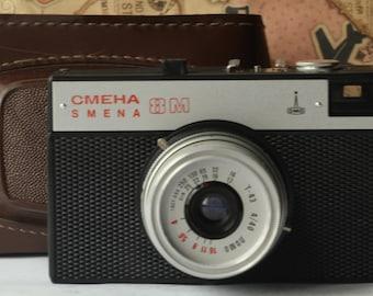 Smena 8M. Soviet camera. LOMO.Small-format