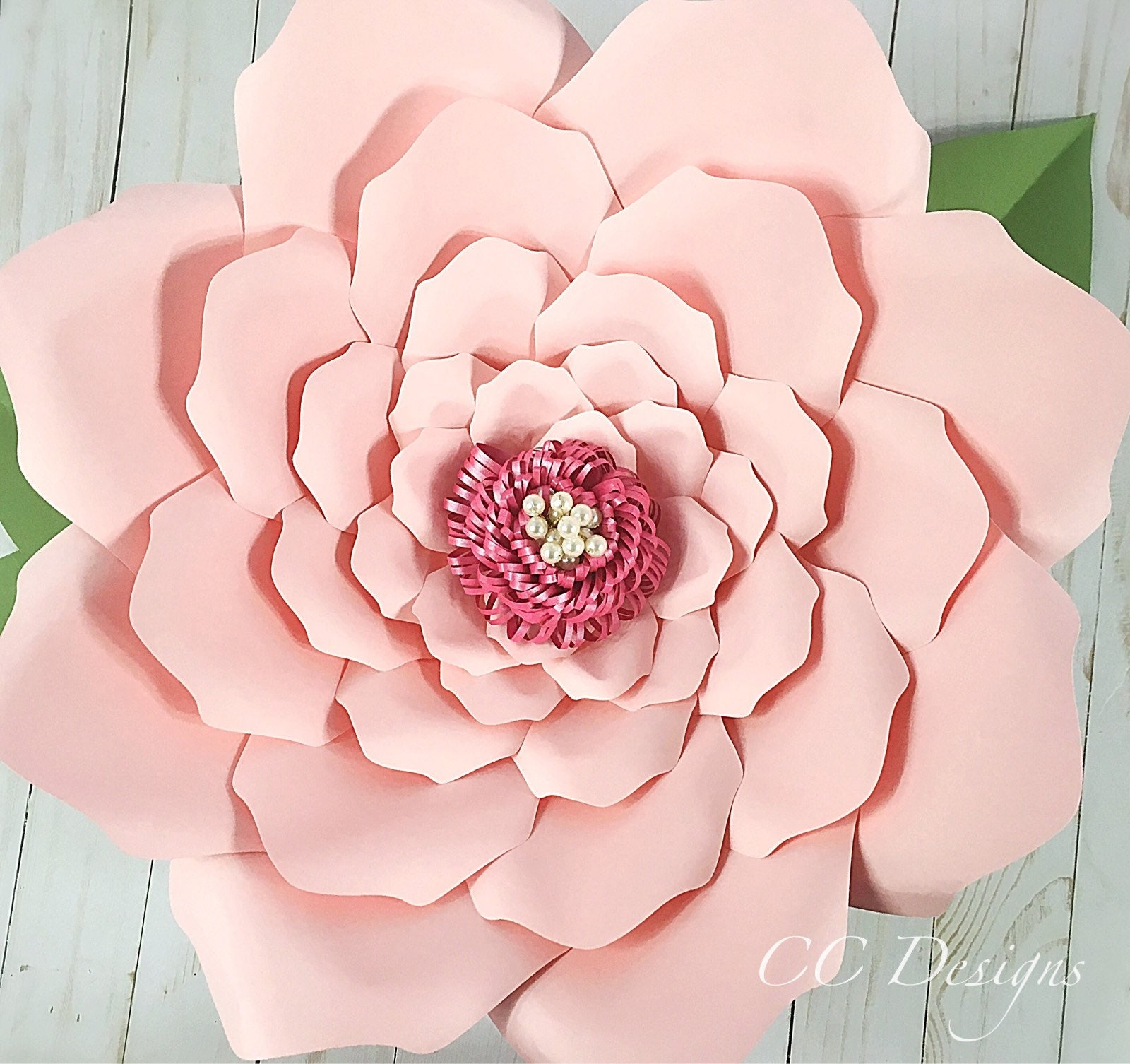 Printable paper flower templates giant flower templates for Free printable paper flower templates