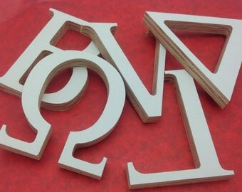 greek letters wooden greek letter custom greek letter sorority letters fraternity letters wood greek letters decor 4