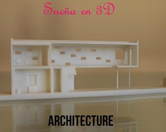 Architectural model 3D
