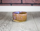 Purple Ceramic Cup, Pottery Tumbler, Espresso, Coffee, Tea Cup, Cup, Ceramic Cup, Wheel Thrown Pottery Cup, Short Tumbler, Ceramic & Pottery