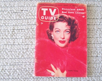 TV Guide 1955 January 1-7. Price Includes Shipping.