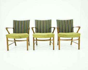 308-009.1 Danish Mid Century Modern Walnut Lounge Easy Sitting Armchair (3)