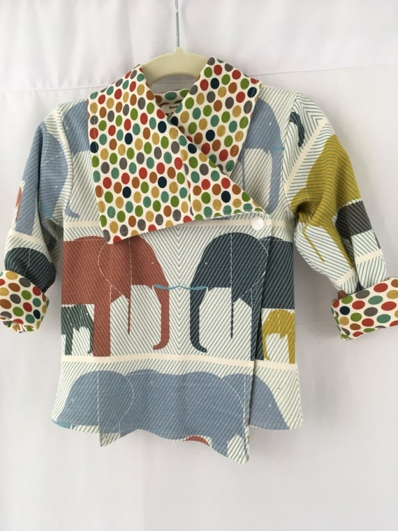 Cardigan, jacket, 9-12m, stretch knit, lined, two front snap closures, roll cuff on sleeves, big collar,