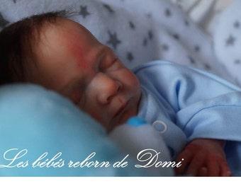 1 Reborn baby boy hyper-realistic premature to order