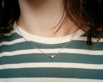 Star. Necklace. Free shipping.