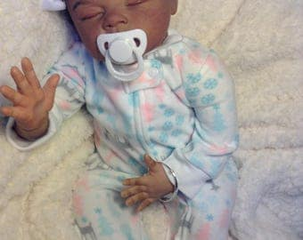 "Introducing beautiful babygirl reborndoll ""Kassi"" now ""Nabila"" reborned by me"
