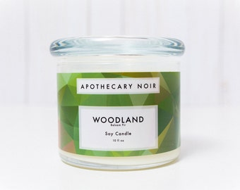 WOODLAND - Scented Soy Candle - Balsam Fir