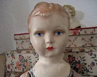 Bezaubernder french shabby Puppe Stoffpuppe