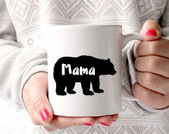 Mama Bear | Mama bear mug | Mum gift | Mother's day gift from son | Mum gift from daughter | mom mug | gift mug | coffee mug, dad christmas