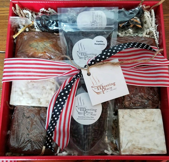 Thank You Gift Basket W Coffee Homemade Baked Goods Hostess