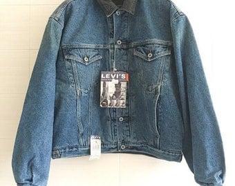 Padded jacket vintage Levi's Levis orange tab with new label