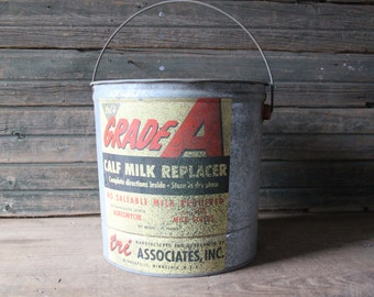 Grade A calf milk replacer pail