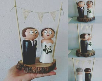 customizable wedding figures