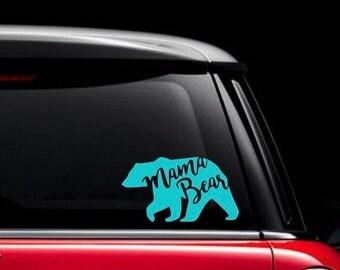 Mama Bear Decal Etsy - Custom vinyl decals for laptop
