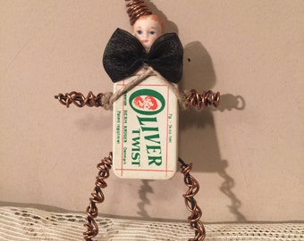Oliver Twist Weird Oddity Tin Can Ooak Boy Doll