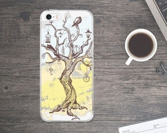 Watercolor tree iPhone Case - Tree iPhone Case - Watercolor iPhone Case - iPhone Case