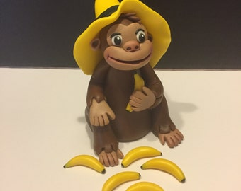 Curious George Cake Topper