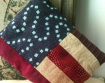 Flag Upcycled Pillow