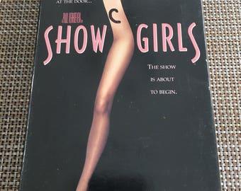 ShowGirls VHS Rare