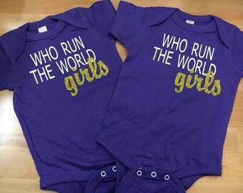 Who Run The World Girls - Onesie