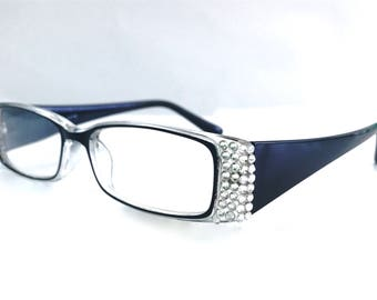 Reading Glasses made with Swarovski Element +1.00 +1.75 +2.50 +3.50