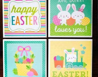 Happy Easter Coasters