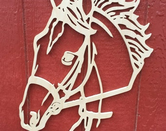 Horse Head wall hanging