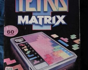 Tetris Matrix Puzzle Game