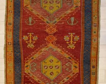 Turkish Konya Antique Rug rare find