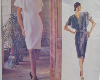 Vogue 2303, Vogue Paris Original Dress Pattern, Givenchy Vogue Pattern 2303, Vtg Givenchy Pattern, Misses Dress Pattern
