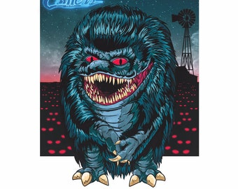 Critters Poster Print