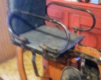 vintage baby bicycle seat