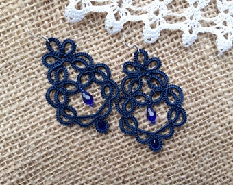 Jewellery Earrings Chandelier Earrings Jewellery Earrings Tatting Lace Weddings tatted jewelry