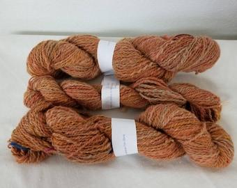 Alpaca Yarn, Multi colored, Handspun, hand dyed, 2 ply DK weight, Baby Alpaca, Soft Alpaca, Hypoallergetic, knitting, crocheting, yarn