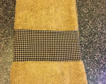 Country Plaid Hand Towel