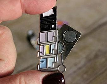 Literature  Lapel Pin Magnet 4 pcs
