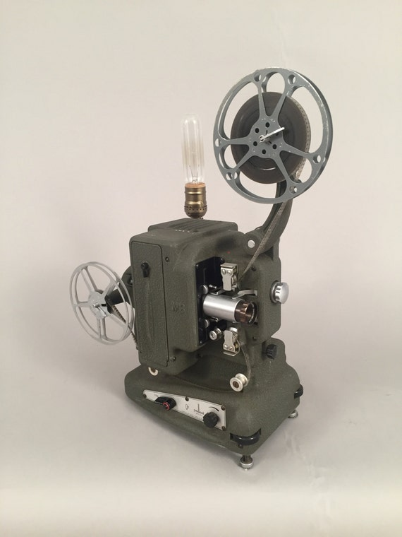 Vintage projector & Lamp