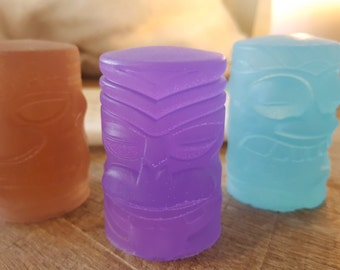 Tiki Soaps - Set of 3 - 3 Different Faces