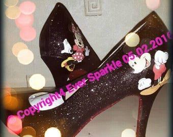 Character Glitter Heels
