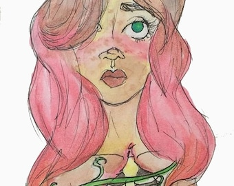 "Illustration ""Healing"" Print"