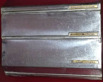 Lincoln beautyware Chrome 3 tier roll dispenser
