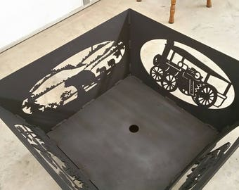 "36""  Custom made firepit"