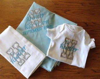 Baby Blanket Set