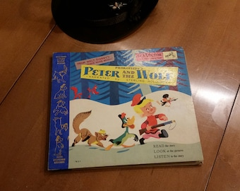 Peter and the Wolf  RCA  Victor  little nipper series. records